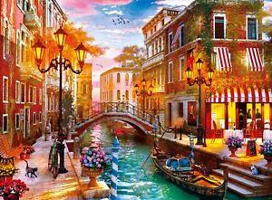 Venice at Sunset Premium Jigsaw Puzzle