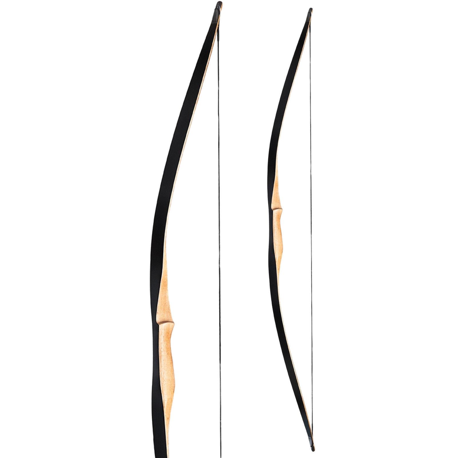 Arco largo Longbow arquería tradicionalmente Ragim Squirrel -56 pulgadas - 15-50 lbs
