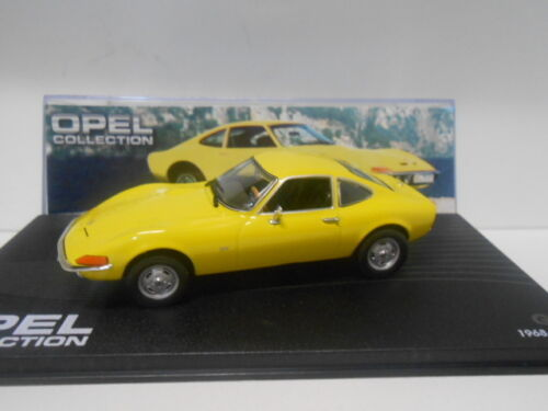 OPEL GT 1968-73  OPEL COLLECTION #2 EAGLEMOSS IXO 1//43