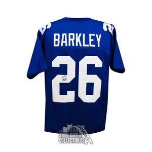 129ca8b8 Image is loading Saquon-Barkley-Autographed-New-York-Giants-Custom-Blue-