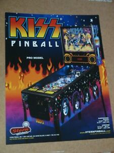 Pinball machine FLYER - Stern - Kiss (combined post - Use BASKET)