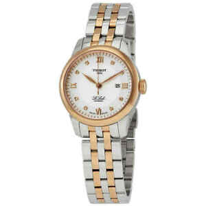 Tissot-Le-Locle-Automatic-Diamond-Silver-Dial-Ladies-Watch-T006-207-22-036-00
