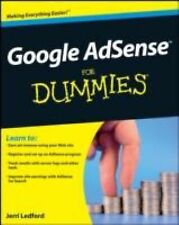 Google AdSense For Dummies by Ledford, Jerri L., Good Book