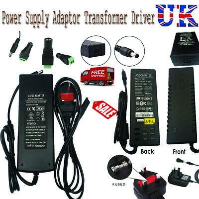 4Way Splitter POWER Supply Transformer LED Strip Quality 12V 1A 2 3A 5A 6A 8A