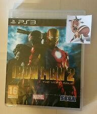 Iron Man 2 PS3 New Sealed UK PAL Version Game Sony PlayStation 3