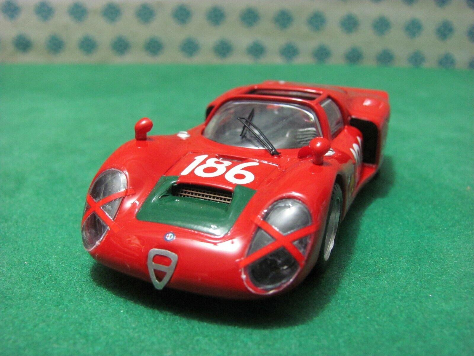 ALFA ROMEO 33 2 Spyder 2000. Autodelta  Targa Florio 1968  - 1 43 Best 9422 LE