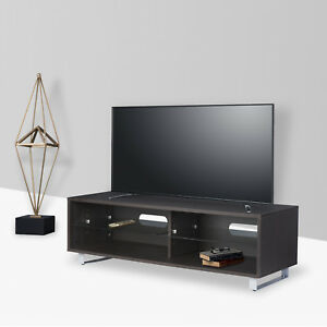 Tv Stand Entertainment Center Media Console Furniture Wood Storage Cabinet New 6970889214819 Ebay