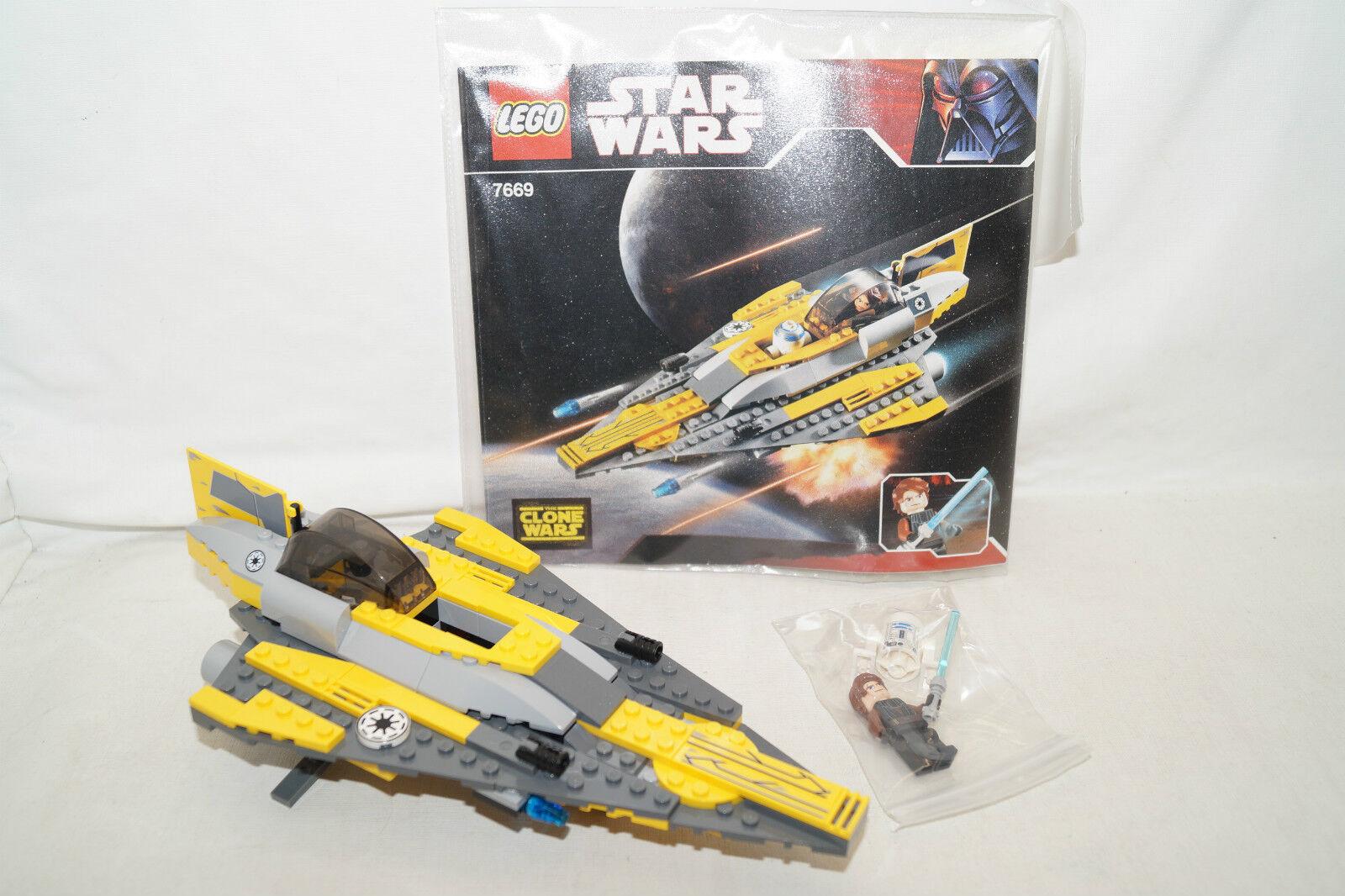 Lego 7669 Estrella Wars Anakin's Jedi Estrellafighter