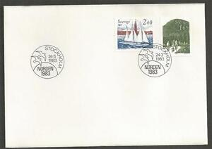 SWEDEN-1983-Norden-FIRST-DAY-COVER