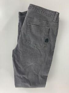 Bisou-Bisou-Michele-BohBot-Size-8-Grey-Zipper-Leg-32x29