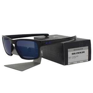 59073779da Oakley OO 9262-28 SLIVER Moto GP Polished Black Ice Iridium Mens ...