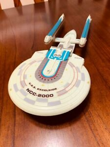 RARE-WORKS-1995-PLAYMATES-STAR-TREK-U-S-S-Excelsior-NCC-2000-As-Seen-In-Movies
