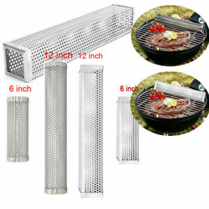 6-12-inch-BBQ-Smoker-Tube-Generator-Wood-Pellet-Grill-Cold-Smoke-Steel-Mesh