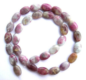 Pink-Tourmaline-Jasper-Flat-Oval-Beads-10-14mm16-034