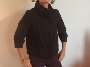 veste noire courte comptoir contonnier