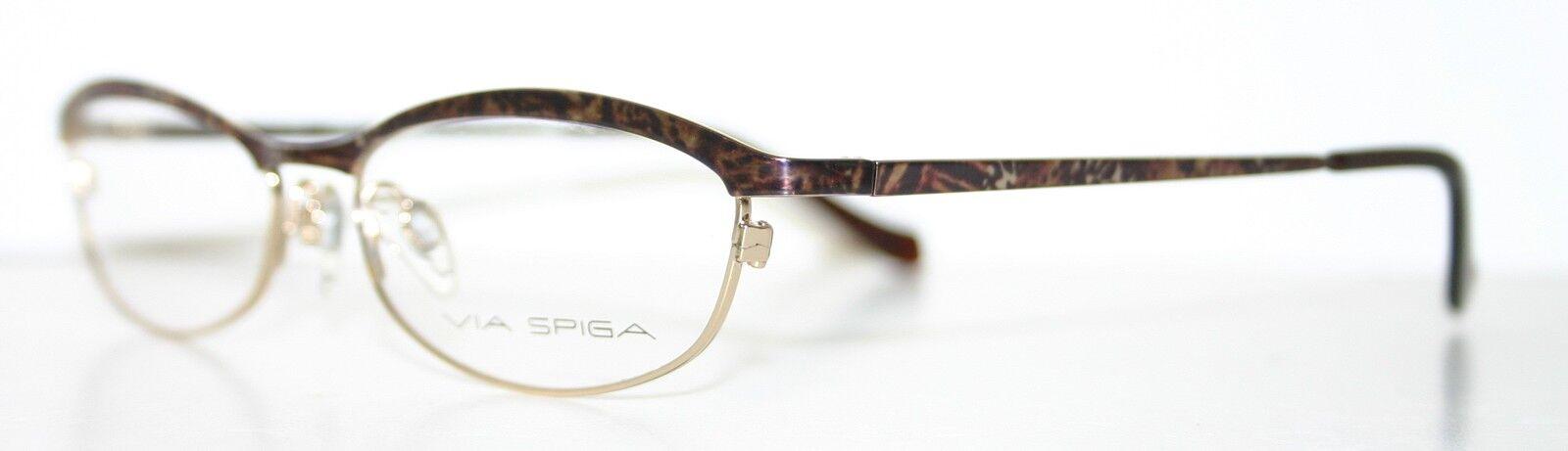 VIA SPIGA DARA SAFARI New Women\'s Optical Eyeglass Frame ...