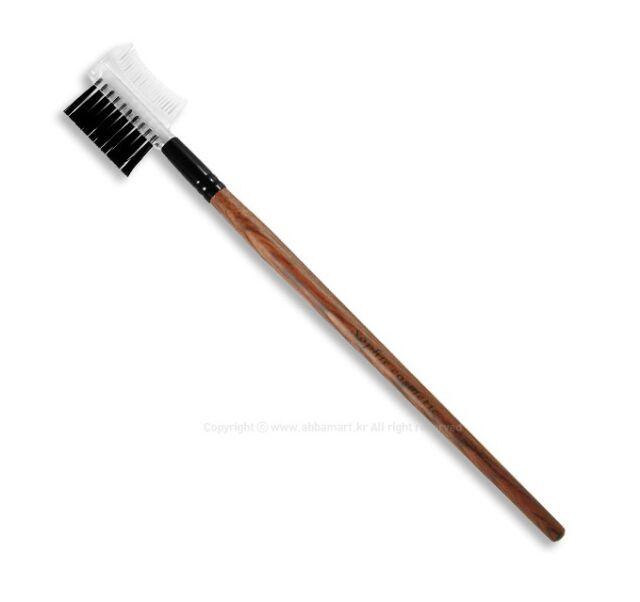 Lash and Brow Eyebrow Eyelash Comb Brush Grooming Shaping Smoothing Rosewood
