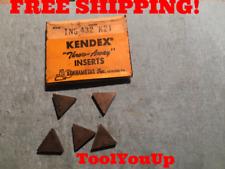 5pcs New Kennametal Tng 432 K21 Inserts Cnc Tooling Machinist Shop Machine Tools