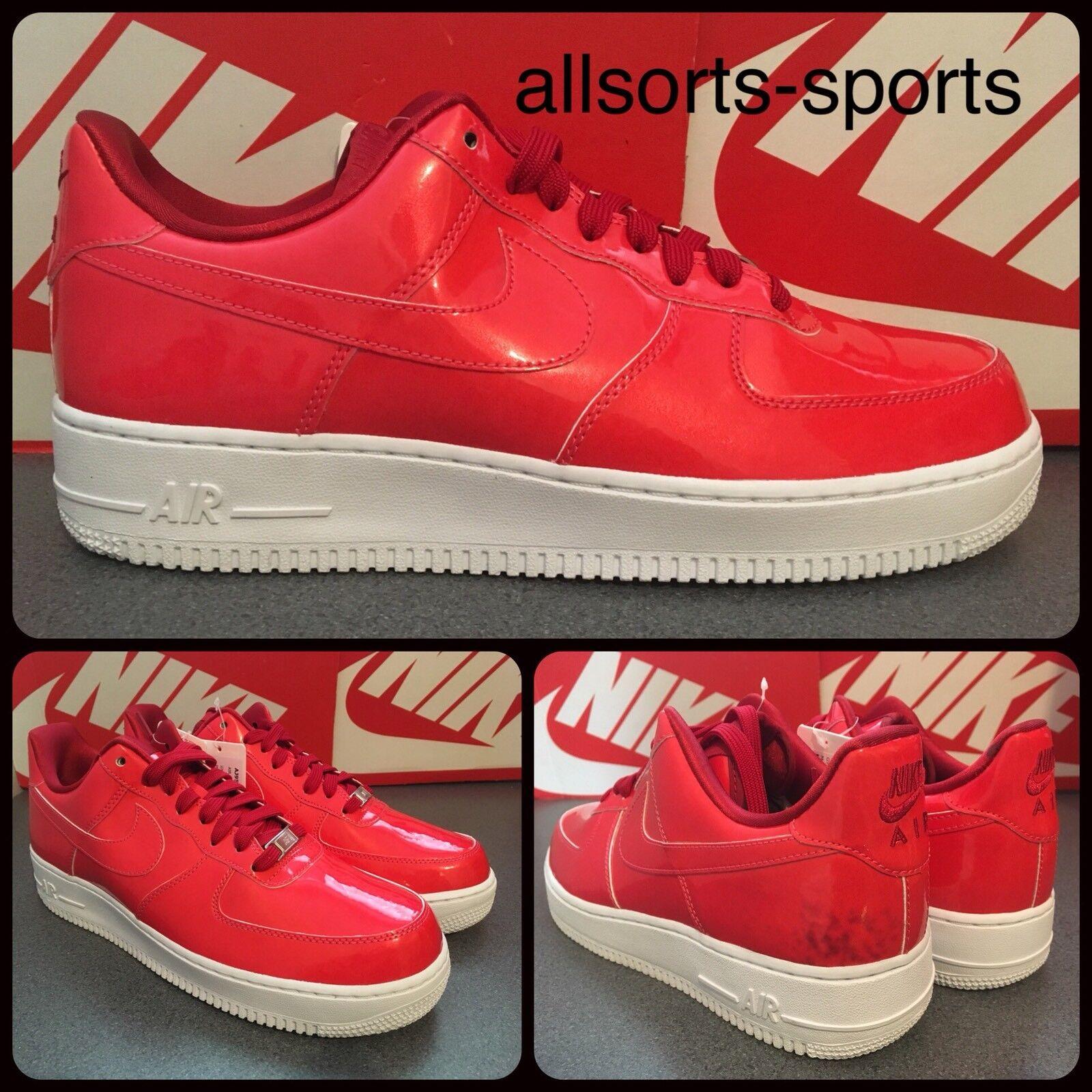 Muestra Nike Force 1'07 LV8 UV Air Sirena AJ9505-600 Sirena Air Rojo Blanco 607dea