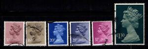 Grossbritannien-1983-Mi-946-947-949-961-Gestempelt-100-Koenigin-Elisabeth-II
