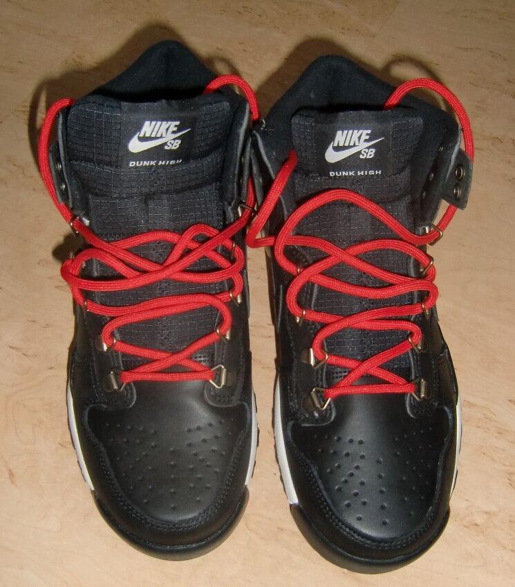 Nike SB Dunk High Stiefel, schwarz, Gr. 41, Leder, neu im Karton    | Modisch