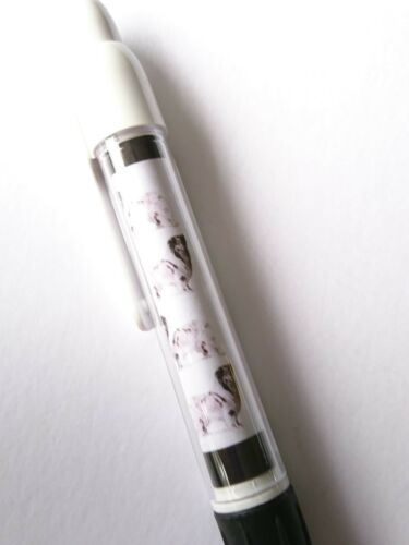 Rough Collie Retractable Ball Pen by Curiosity Crafts