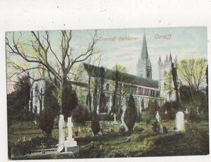 Llandaff-Cathedral-Cardiff-Vintage-Postcard-724a