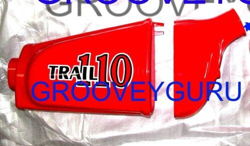Honda CT90 CT110 Air Box Cover Set 17230-459-841ZA 17232-102-010ZE color R23