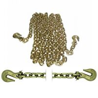 Load Binder Tow Chain Assembly 3/8 X 20' Grade 70 6694