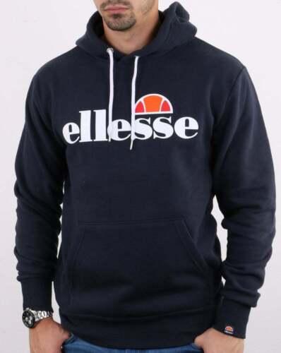 jumper Gottero hooded sweatshirt hoodie Ellesse Overhead Hoody in Navy Blue