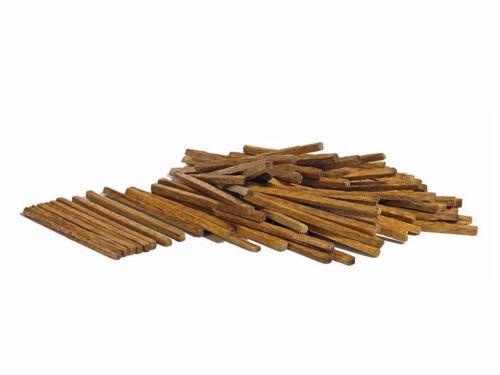 Busch 1129 Bauholz Holzpfosten Holz Ladegut 100 Stck Echt Holz H0 Neu