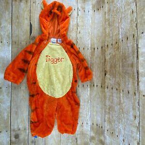 Disney Store Tigger Costume 18 Months Full Body Hooded ...
