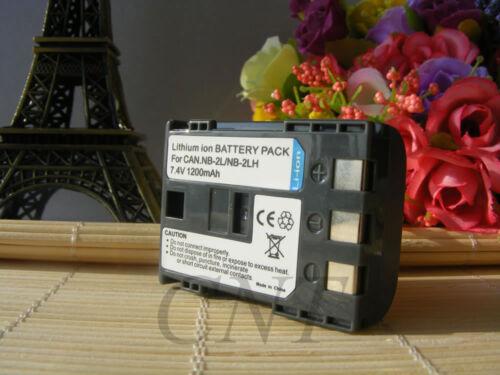 Batería//Cargador USB para Canon NB-2L ZR700 ZR800 ZR830 ZR850 ZR900 ZR930 ZR960