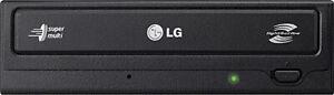 LG - Super-Multi 24x Internal DVD±RW/CD-RW Drive - Black