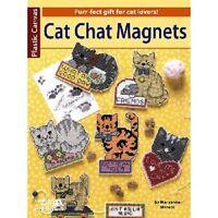 Cat Chat Magnets (plastic Canvas)