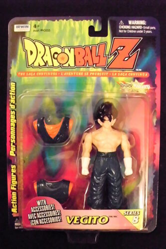 Dragonball Z Series 8 Vegito Action Figure NIB