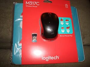 M317C WRLS MOUSE COLOR RED