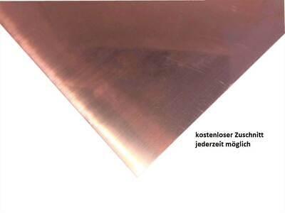0,6mm Kupferblech Kupfer Blech KOSTENLOSER ZUSCHNITT