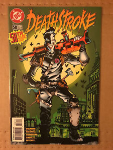 Deathstroke-58-first-printing-DC-comic-book-Classic-Joker-Cover