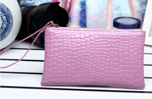 Fashion Women Leather Clutch Handbag Coin Purse Bag Wallet Card Holder Pouch