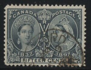 MOTON114-58-Jubilee-15c-Canada-used-well-centered
