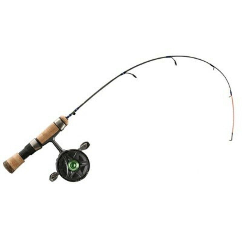 nuovo 13 pesca SnitchDecent Inline Ice Combo 29 with Quick Tip SND29QTRH RH