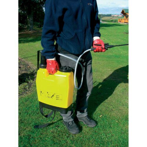 Kingfisher 16l ZAINO VAPORIZZATORE Trigger di bloccaggio regolabile Cablaggio a sgancio rapido