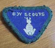 Vintage Boy Scout Uniform Cloth Unidentified Proficiency Badge Patch - (d)
