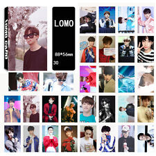 30pics set JaeBum JB LOMOCARDS KPOP CARD GOT7 FLY FLIGHT LOG