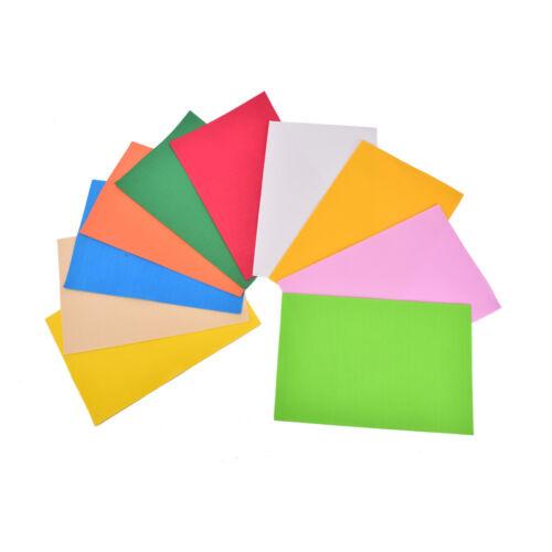 10Pcs//Pack EVA Foam Sheets Handmade Paper Fun Kids Craft Gift 260x185x2mm JDUK