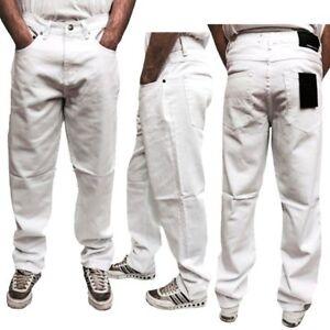 New-Men-Denim-Designer-Georgio-Peviani-G-Denim-True-Star-White-Comfort-Fit-Jeans