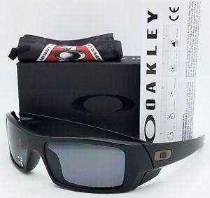 51f53d38a87 NEW Oakley Si Gascan sunglasses Matte Black Grey Polarized 11-122 ...