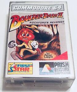 En Herbe Boulderdash Ii 2 Rockford's Revenge Firststar - Dro Soft.1985.commodore 64.c64