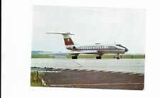 Bulgaria Balkan airline issue Tupolev Tu-134 postcard - 2